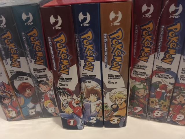 Manga Pokémon La Grande Avventura Fumetto