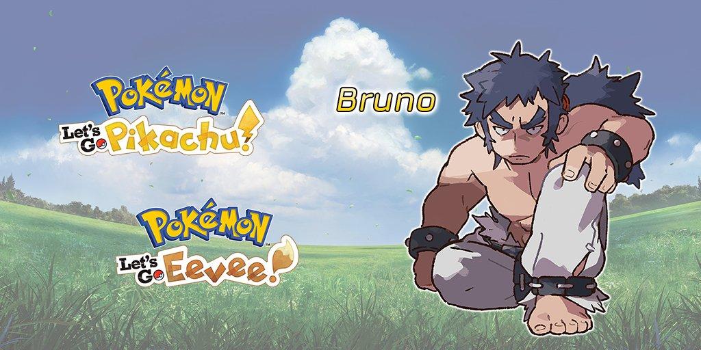 pokemon lets go superquattro bruno