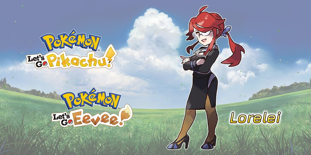 pokemon lets go superquattro lorelei