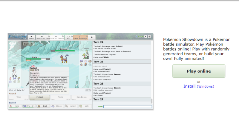 how to play pokemon showdown on android