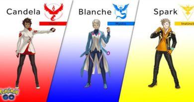 squadre pokemon go