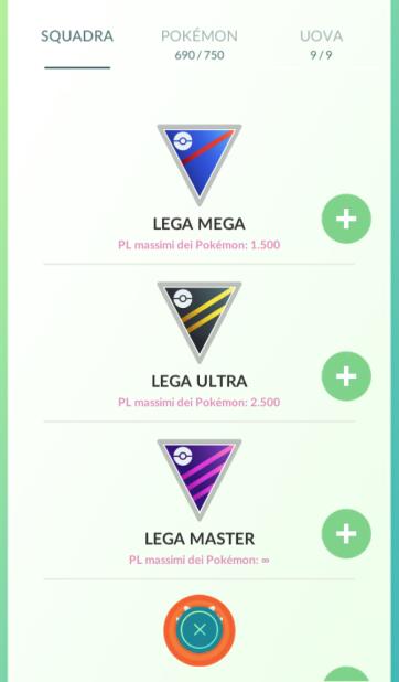 pokemon go pvp leghe mega ultra master