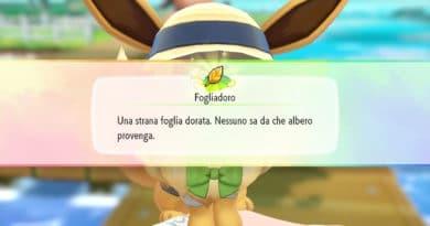 foglia oro pokemon lets go