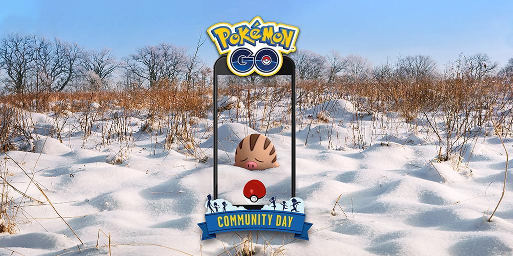 Pokémon Go Community Day Febbraio 2019: Swinub