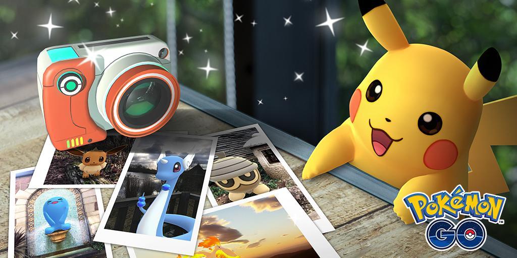 Pokémon Go Snapshot: nuova funzionalità per scattare foto