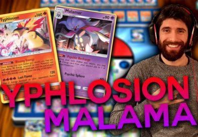 Mazzo Typhlosion Malamar – Un mazzo Pokémon facile ma molto particolare