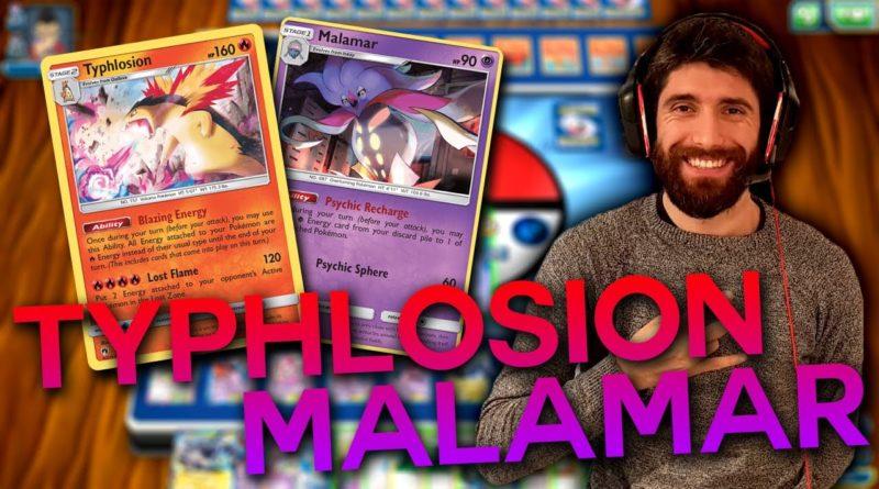 Mazzo Typhlosion Malamar Pokémon gcc