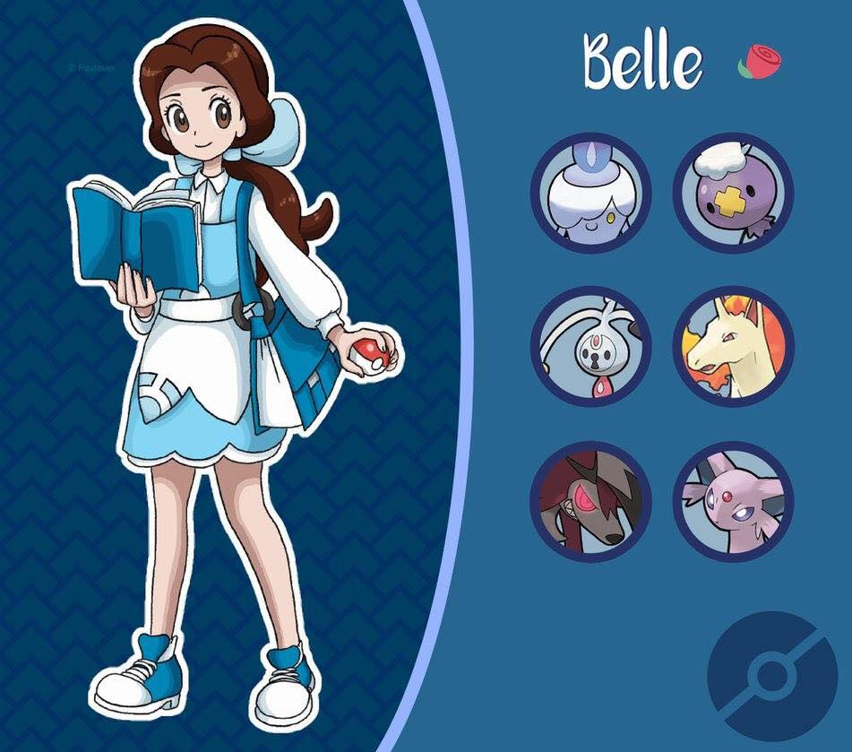belle pokemon disney