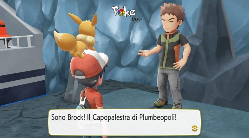 come sconfiggere brock pokemon lets go