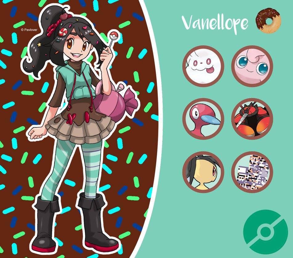 disney vanellope pokemon