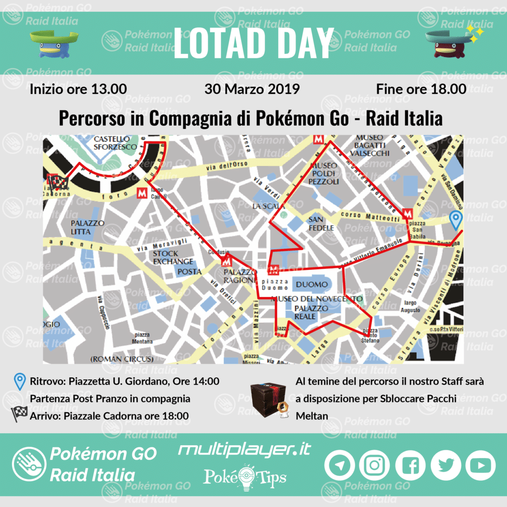 evento lotad day milano pokemon go raid italia