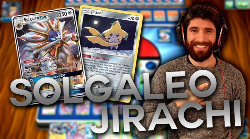 mazzo solgaleo jirachi pokemon gcc icaterpie