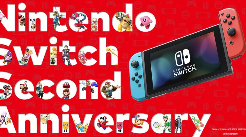 nintendo anniversario 2 anni nintendo switch