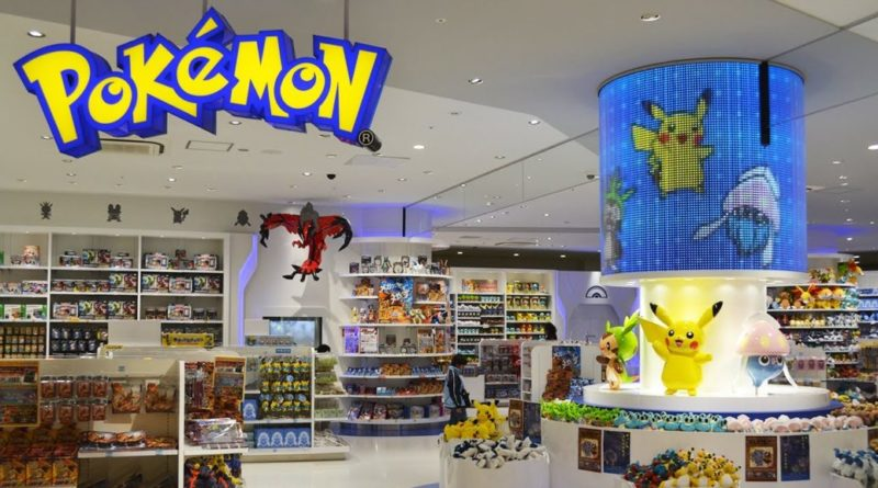 pokemon center singapore giappone