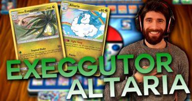 Mazzo Pokémon Economico e competitivo Alolan EXEGGUTOR ALTARIA