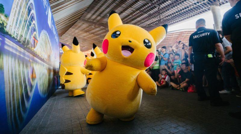 Pesce d'Aprile 2019 in Pokémon GO con Pikachu e Ash Ketchum