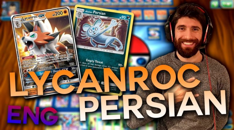 mazzo lycanroc persian dx inglese pokemon