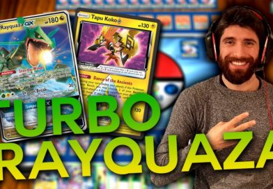 Mazzo Pokémon TURBO Rayquaza Gioco di carte collezionabili