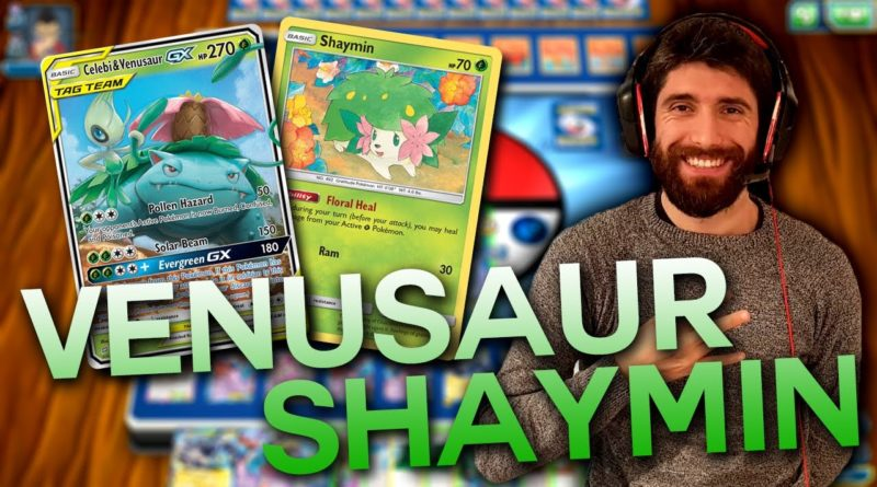 mazzo venusaur shaymin carte pokemon