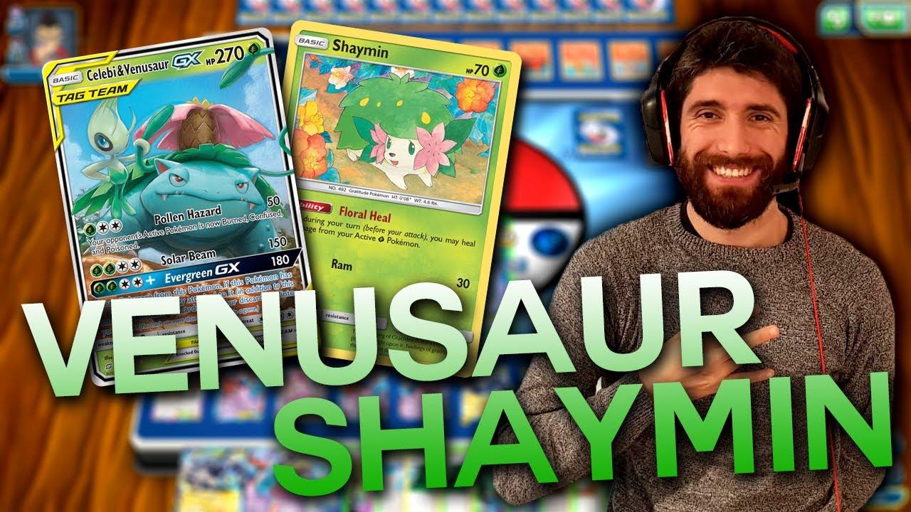 Mazzo VENUSAUR SHAYMIN Carte Pokémon – Terzo posto a Denver