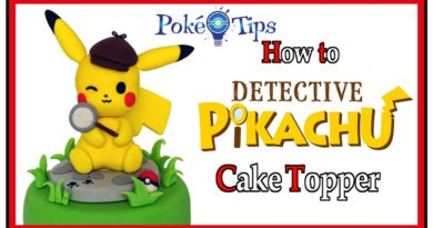 pokémon cake topper detective pikachu giulia vaiana detto fatto