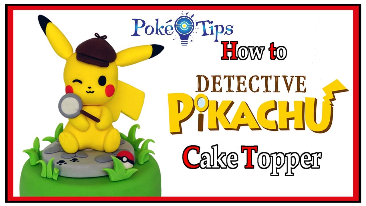 Cake Topper Pokémon Detective Pikachu – Giulia Vaiana Nerd Kitchen