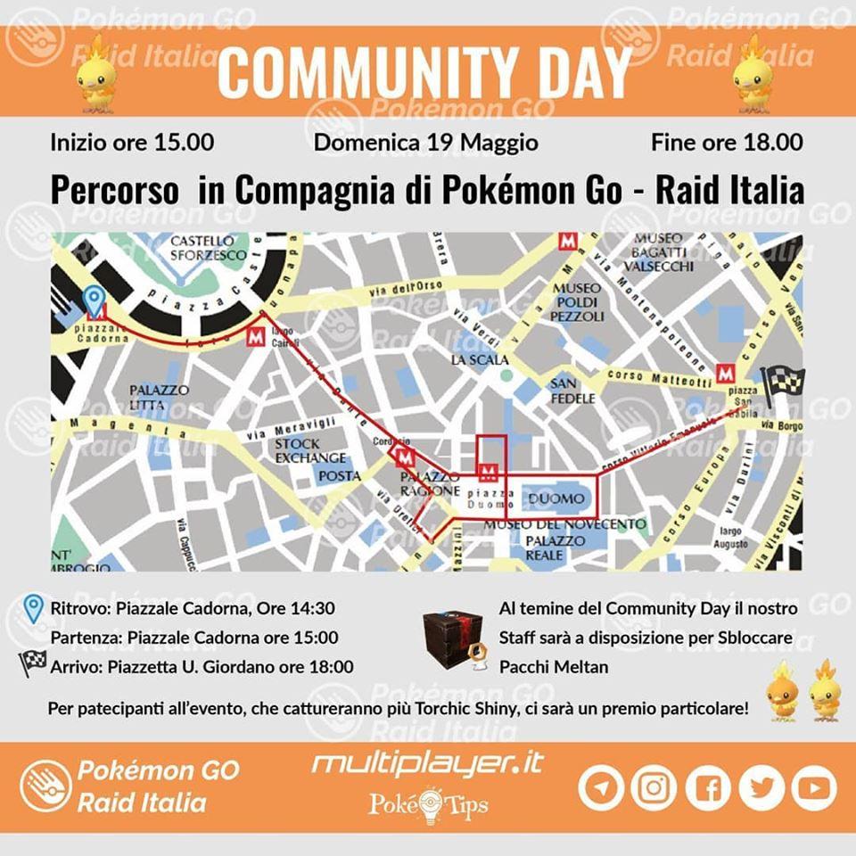 community day milano pokemon go raid italia maggio 2019