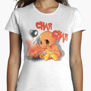 charmander char char maglietta pokemon