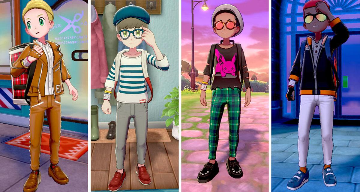 Come cambiare divisa e uniforme in Pokémon Spada e Scudo