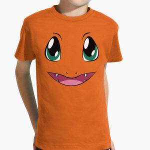 maglietta charmander figura intera tostadora