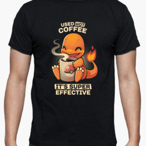 maglietta charmander pokemon tostadora coffee