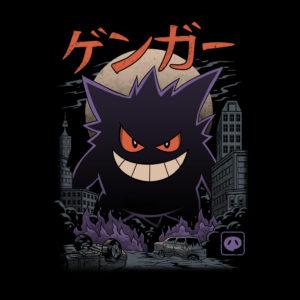 maglietta gengar Ghost Kaiju
